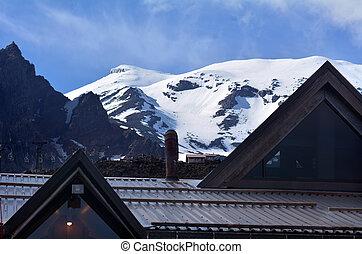 Tongariro National Park- Whakapapa skifield - NATIONAL PARK,...