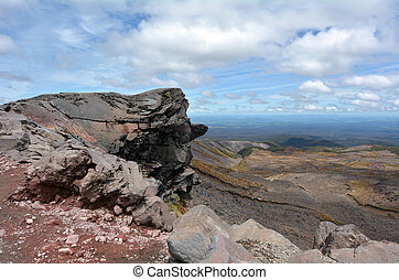 Tongariro National Park - NATIONAL PARK, NZ - DEC 8...