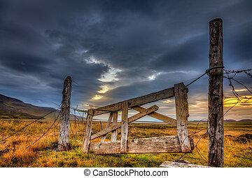 portão,