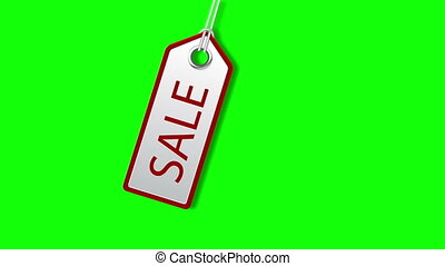 Sale tags/Sale concept, formed of red tags; great for...