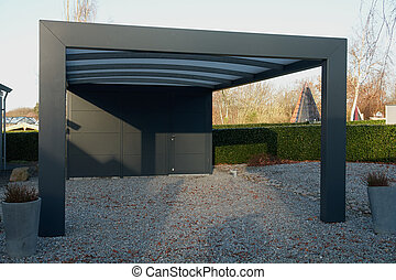 images et photos de carport 275 images et photographies libres de droits de carport disponibles. Black Bedroom Furniture Sets. Home Design Ideas