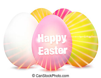 Easter Egg Design bright graphic - Easter Egg Design