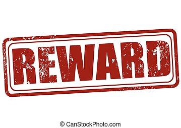 reward - Grunge stamp with text reward on vector...