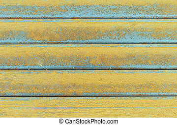 Close-up steel surface get corrode