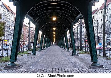 bridge in berlin prenzlauer berg