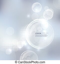 Abstract background with light and bright spots. - Abstract...