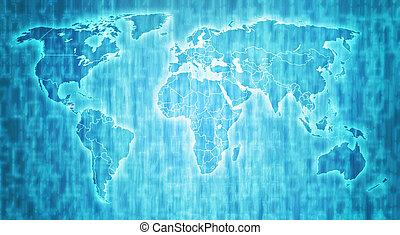 Nicaragua territory on world map