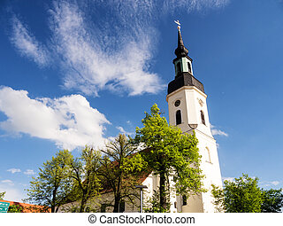 church in luebbenau spreewald - nikolai church in luebbenau...