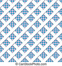 Blue seamless patten, vector illustration