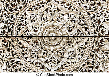 Wood carving texture
