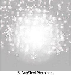 Christmas Snowflake Poster