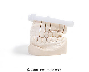 teeth denture - a set of teeth for the production of a...