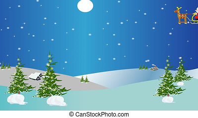 Christmas animation - Christmas concept