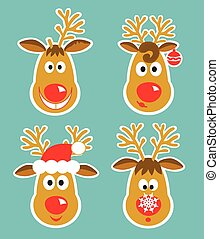 picture of cheerful deer