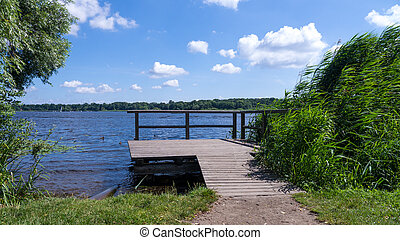 havel near werder (potsdam) - havel near werder ins summer...