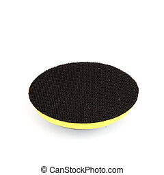 Pad holder isolated on white background