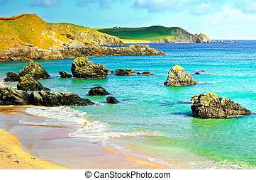 Sango bay Durness beach. Highlands of Scotland - Sango Bay...