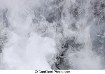Smoke background - Photos of natural smoke the abstract...