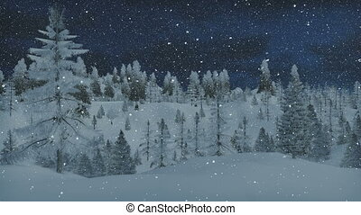 Animated Merry Christmas and Santa