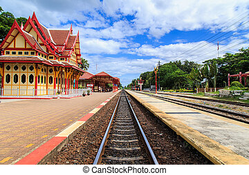 PRACHUAP KHIRI KHAN - AUG 11 : Royal pavilion at hua hin...