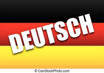 deutsch design - deutsch design,vector illustration eps10...