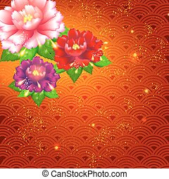 Chinese New Year Background - Abstract Chinese New Year...