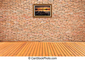 brick wall texture background