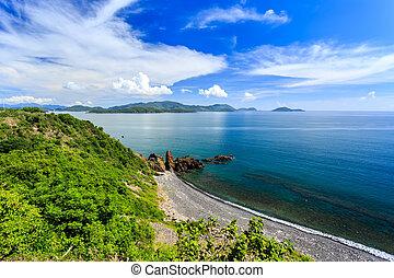 Nha Trang bay, Vietnam. North Of Nha Trang City.Taken From...