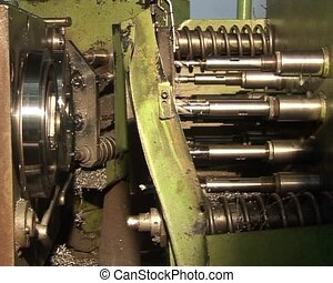close up driller and turning lathe