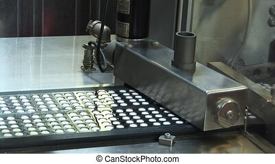 Creating a pill. Tablets on the co