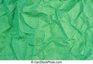 Crumpled paper background texture