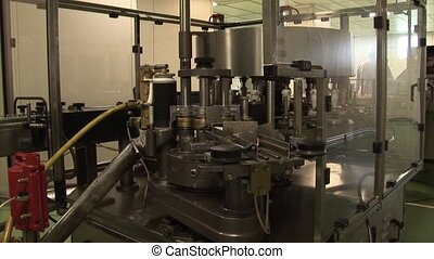 Packaging of drug - Automated production of medicines...