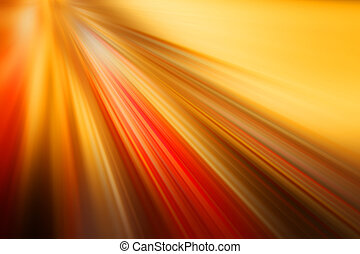 light velocity, orange red background