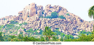 breathtaking and huge Hampi  UNESCO World Heritage Site Karnatak
