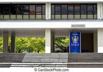 Massey University - PALMERSTON NORTH, NZL - NOV 29...