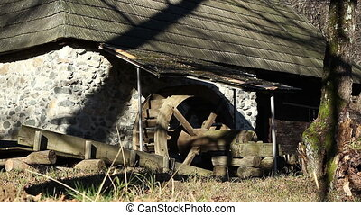 Old Mill View - Nineteenth century mill building, near a...