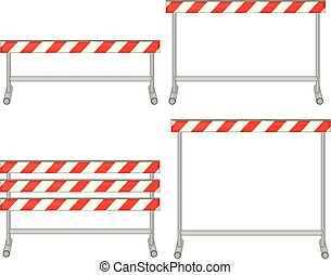 Obstacle - Illustration of a set of obstacles