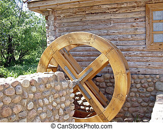 Water mill - Wheel of the water mill