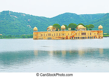 floating palace jaipur - floating palace