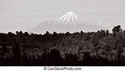 Mount Taranaki - Mount Egmont New Zealand - TARANAKI, NZL -...