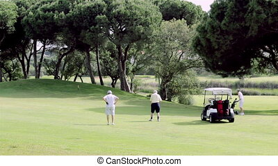 Algarve Golf Shot - Algarve golf course scenery landscape,...