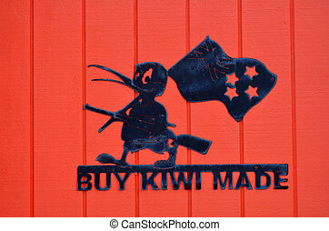 Buy Kiwi Made - New Zealand economy - AUCKLAND, NZL - DEC 08...