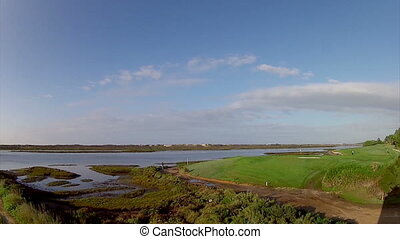 Algarve QDL Ria Formosa Timelapse - Algarve golf course...