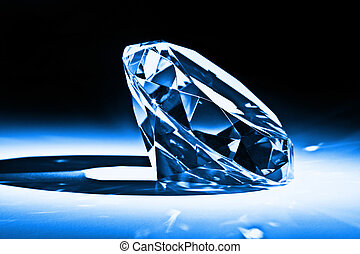 diamond - classic diamond close up image