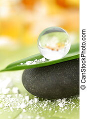 aroma therapy concept - concept shot of aroma therapy with...