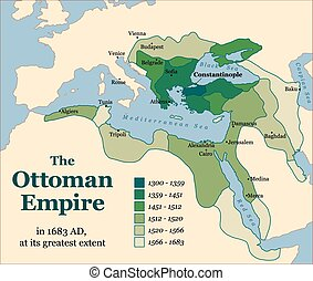 Ottoman Empire Acquisitions - The Ottoman Empire at its...