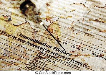 inmunización, historia,