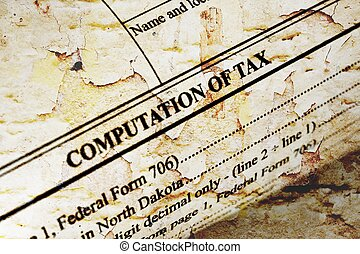 Computation of tax