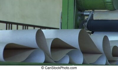 production of wallpapers - Factory for the production of...