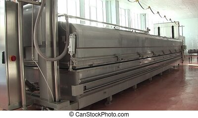 automatic production of cheese